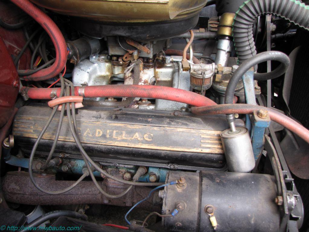 Cadillac X on Cadillac 365 Engine